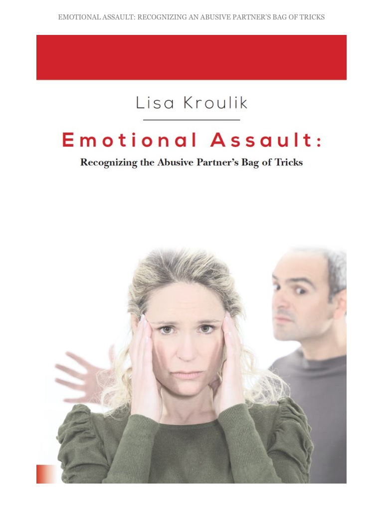 Napturaleliving.com Lisa Kroulik Emotional Assault Review